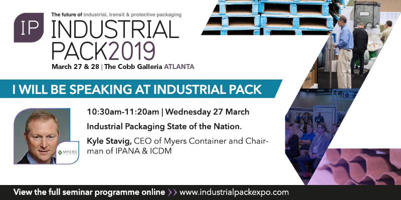 Kyle Stavig Industrial Pack 2019 Speaker