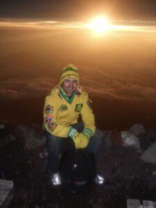 Cody Stavig Mountain Climb